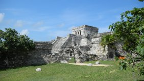 Ancient Mayan Palace - Tulum, Mexico