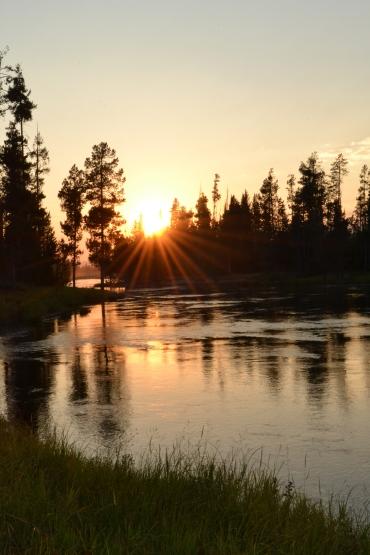 Sunset - Island Park, Idaho