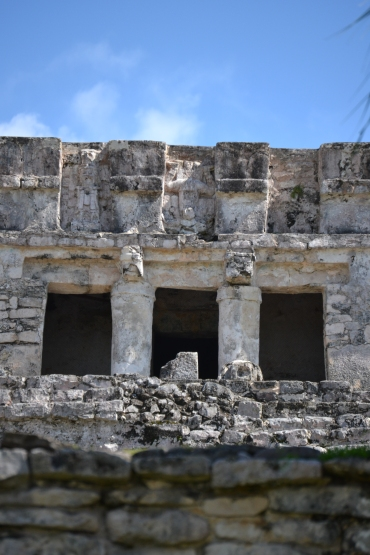 Facade of Pyramid El Castillo